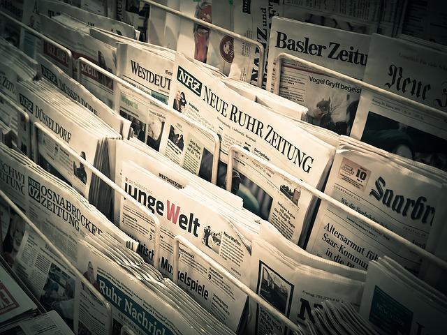 Ein ansprechendes Zeitungsinserat